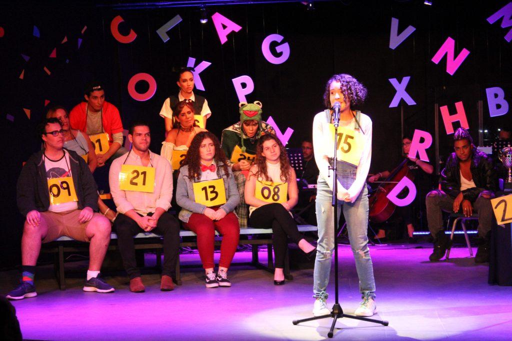 Comedia musical a casa llena en Studio Theater de Acrópolis Center