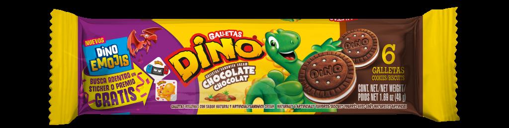 DENDER INDIVIDUAL DINO EMOJI CHOCOLATE