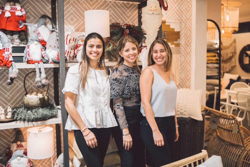Alina Read, Celine Read y Gabriela Subero