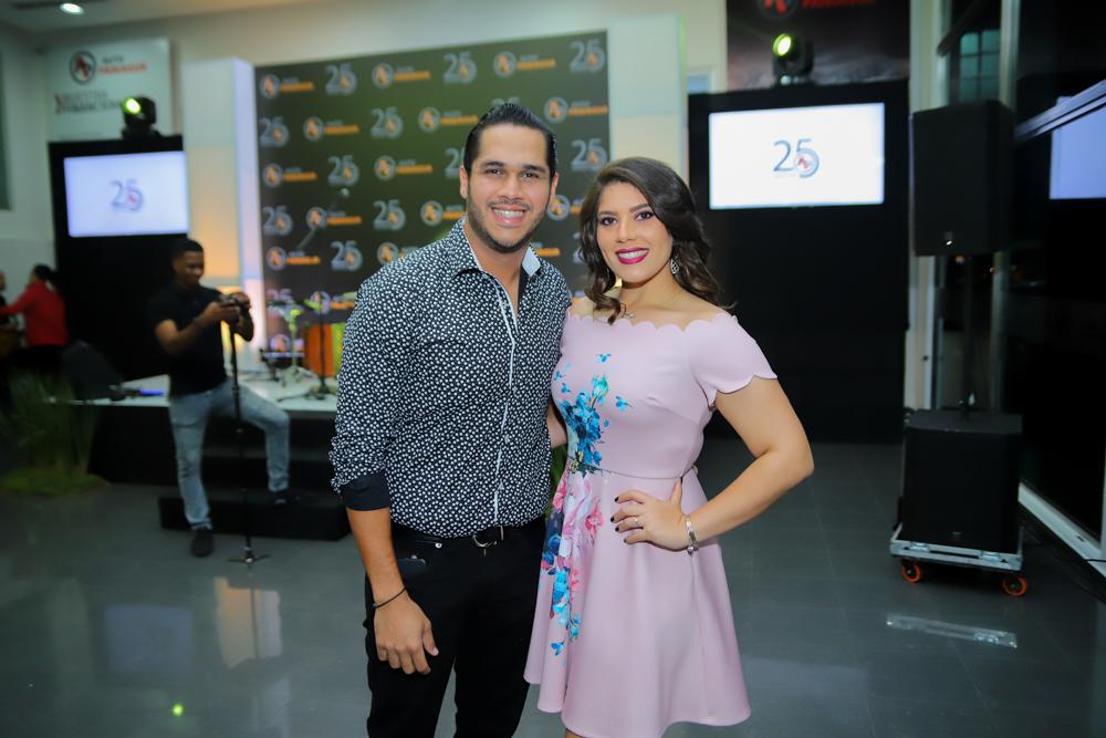 Juan Carlos Pichardo y Carmen Paniagua
