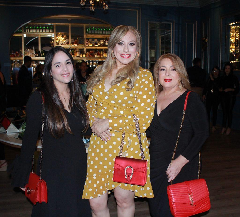 Raemil Tatis, Lolita Suárez y Arelis Domínguez